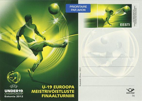 bdde2a40e26 Nr 74 - EM U-19 finaalturniir jalgpallis - filateelia foorum