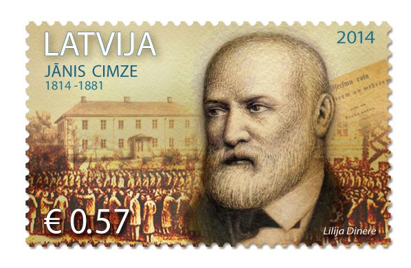 Cimze stamp